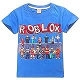 Playera Infantil Roblox para Juegos Familiares, Camiseta de Equipo de Juegos de algodón...