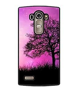 PrintVisa Designer Back Case Cover for LG G4 :: LG G4 Dual LTE :: LG G4 H818P H818N :: LG G4 H815 H815TR H815T H815P H812 H810 H811 LS991 VS986 US991 (Forest tree wild grass sky)