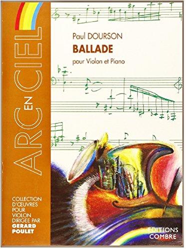 Ballade : Pour violon et piano (Arc-en-c...