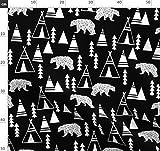 Schwarz Und Weiß, Geometrisch, Trend, Origami, Tipi,