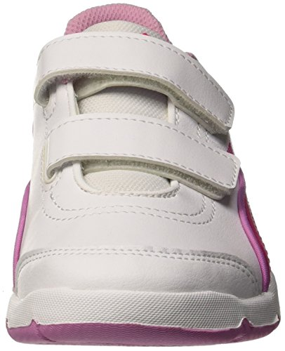 Puma 188859 18 Sneakers Fille Bianco/Pink Glo