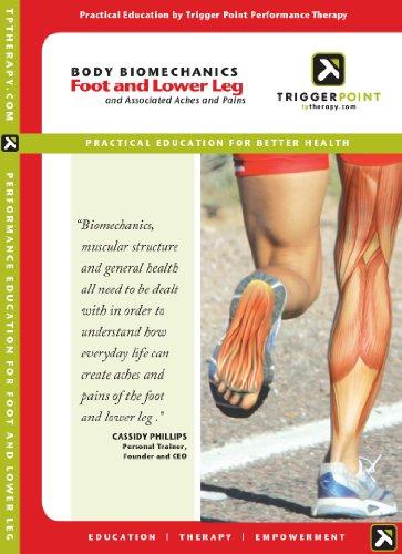 Trigger Point Performance Körper Biomechanik für den Fuß unten und Bein Educational DVD