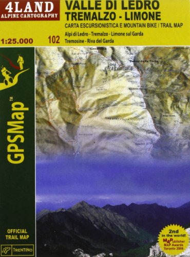 Valle di Ledro, Tremalzo, Limone (GPS map) por Enrico Casolari