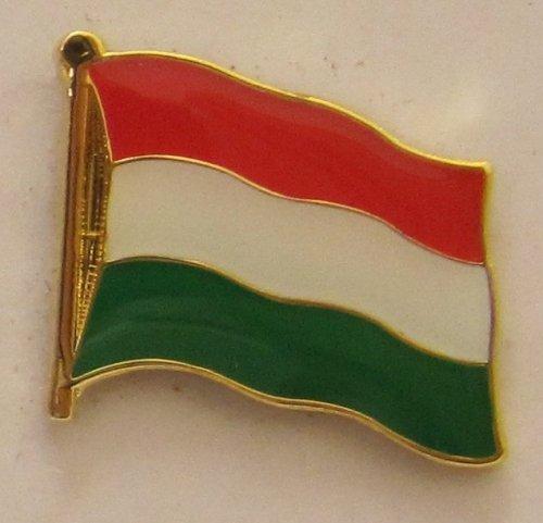 Pin Spilla Bandiera Bandiera UNGHERIA Bandiera nazionale npin Badge Button Bandiere clip Spilla