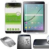 "Xtra-Funky Serie Samsung Galaxy Tab S2 8.0"" Ultra Fino 0.26mm Cristal Templado Protector Pantalla 9H a Resistente a Los Arañazos - Tempered Glass"