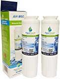 2x AH-M80 Compatible for Maytag UKF8001 Water Filter, UKF8001AXX, Puriclean II PUR, Amana, Admiral, KitchenAid, Kenmore fridge filter