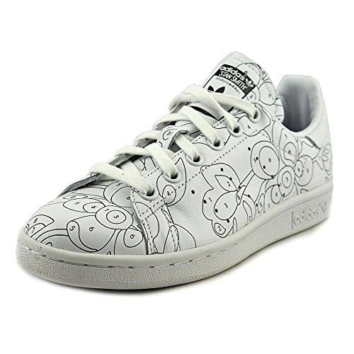 Adidas Stan Smith Rita Ora Cuir Baskets FTWWHT-FTWWHT-CBLACK