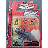 Starship Troopers Battle Packs #6 Tanker Bug vs Johnny Rico Corporal Bronski MI Trooper by Galoob