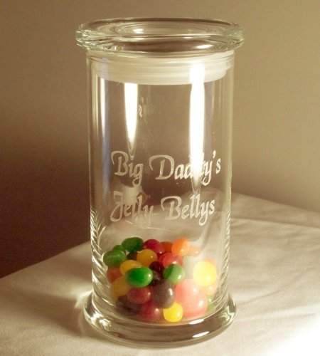 Personalized Candy, Cookie Jar, Cannister by Designs by Etch Art Cookie Jar Cannister