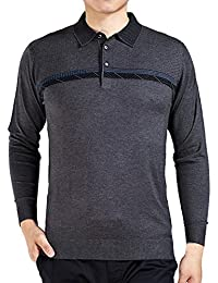 Amurleopard Pull over casual homme col revers