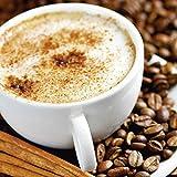 Artland Qualitätsbilder I Glasbilder Deko Glas Bilder 20 x 20 cm Ernährung Genuss Getränke Kaffee Foto Braun D8RR Cappuccino - Kaffee