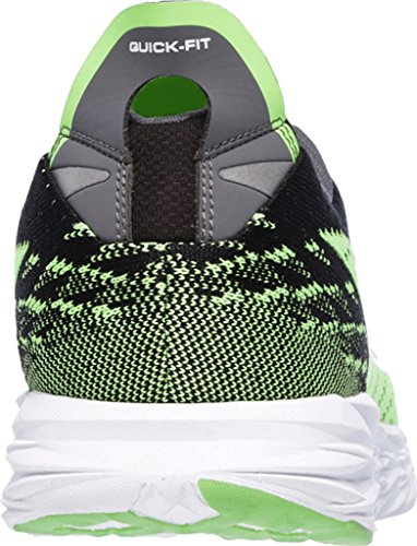 Skechers Performance Herren Go Run 5 Laufschuhe Schwarz (Black/Green)