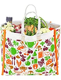 Dussle Dorf Large Heavy Duty Waterproof Shopping Bags Kitchen Essentials/Grocery Bag/Vegetable Bag/jhola / Carry...