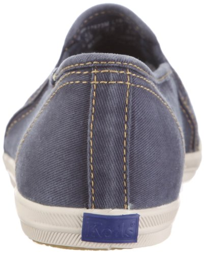 Keds Champion Not Too Shabby Slip On WF37673, Baskets mode femme Bleu/Bleu marine