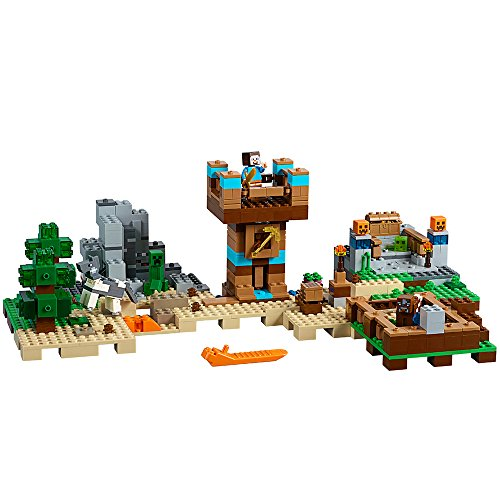 LEGO Minecraft 717-Piece The Crafting Box 2.0 Construction Set 21135