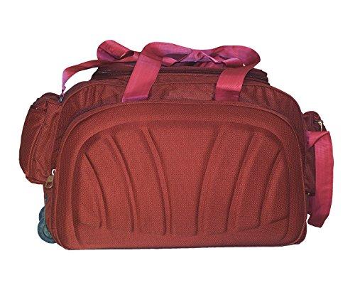 Niyara Dufle Bag Red Color 2Wheeler (Red)