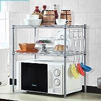 Estante Cocina Electrodomésticos Almacenamiento Flavor Rack Planos Doble -  Deck Microondas Estanterías Storage Shelves Acabado Caja c42852b31379