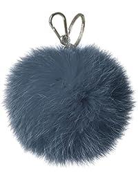 828865BLUCOBALTO Furla llaveros Mujer Pelaje Azul
