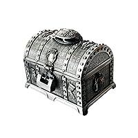 UCYG Storage Box Jewelry Box, Jewellery Organiser Storage Boxes Vintage Treasure Chest Trinket 17.5×12.5×14CM Gift Box Chest Ring Case for Girls Ladies Women