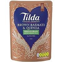 Tilda al vapor de Brown Basmati y Quinoa 250 g