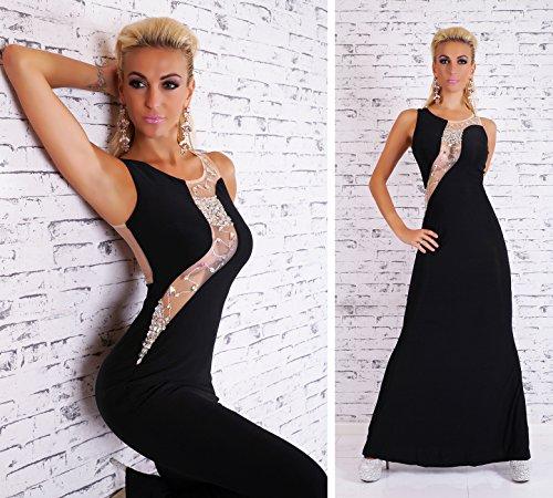 Fashion - Robe - Femme Schwarz