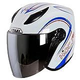 Motorradhelm Elektrische Autos Männliche Und Weibliche Helm Sommer Halbhelm UV-proof ( Farbe : #3 )