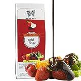 Dolcana Schokofrüchte - Apfelringe in weißer Schokolade