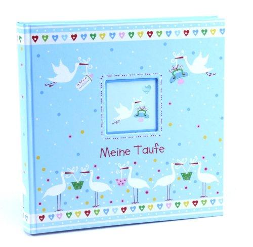 Preisvergleich Produktbild Goldbuch 24285 - Kinderalbum Taufe blau