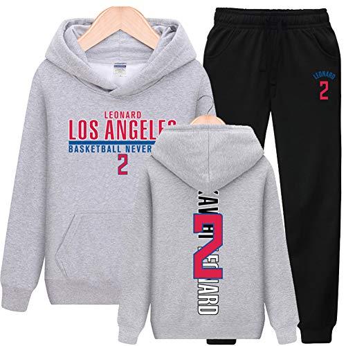 BTCCL NBA Los Angeles Clippers Trikot Trainingsanzug Leonard Paul George Sweater Herren Freizeitsportanzug Mit Kapuze
