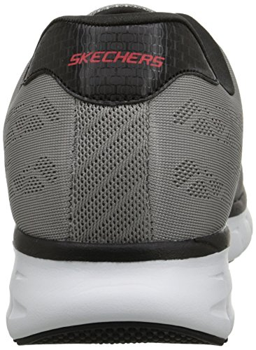 Skechers Sport Synergy Fine Tune Oxford Light Gray/Black