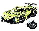 Modelbausatz Ferngesteuertes Auto, Elektronik Kit Spielzeug für Jungen, 1:14 2.4GHz, Bauen Sie Ihr eigenes Fernbedienung Auto, Wissenschaft Geschenk für Kinder 8-14 Jahre Alt, Grün