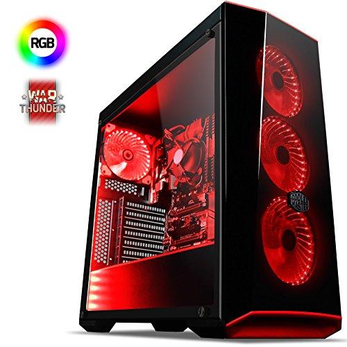 VIBOX Apache 9S Gaming PC Ordenador de sobremesa con War Thunder Cupó