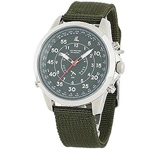 [LAD WEATHER] GPS watch military NATO strap 100 Meters waterproof