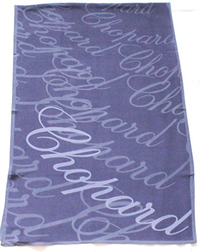 chopard-lila-seidenschal-60-x-186cm-mit-schriftzug-seidentuch-scarf