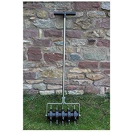 Greenkey Rouleau aérateur pour pelouse 30 cm