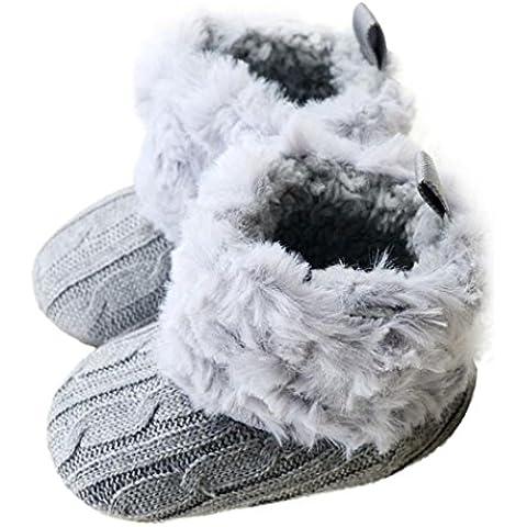 Zapatos De Bebé, RETUROM Suaves Botas Zapatos Del Niño Del Bebé La Nieve Blanda Cuna Del Nuevo