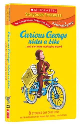 curious-george-rides-a-bike-and-a-lot-more-monkeying-around-scholastic-storybook-treasures