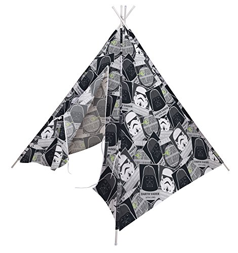 Per bambini star wars darth vader e stormtrooper teepee playroom set