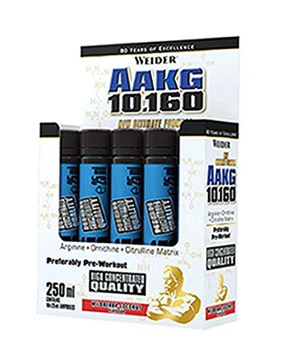 Weider AAKG 10.160 Complemento Nutricional en Ampollas - 10 Unidades