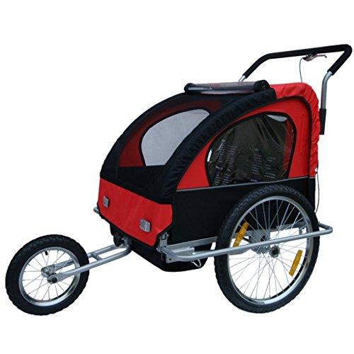 Rimorchio Bicicletta, rimorchio bici, Passeggino Carrellino 1o2 Bimbi Bambini