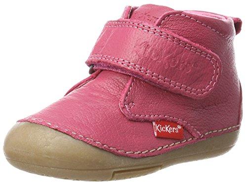 Kickers Baby Girls' Sabio Walking Baby Shoes pink Size: 3UK Child