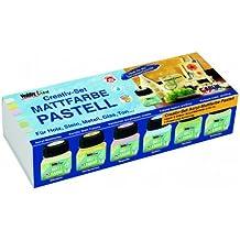 Hobby Line 75615 - Set de pinturas acrílicas (6 botes de 20 ml), colores pastel [importado de Alemania]