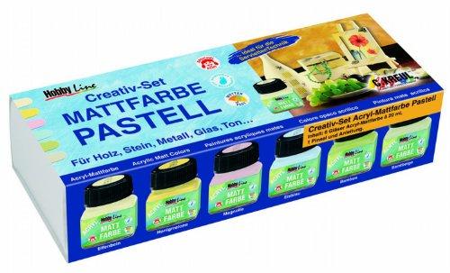 hobby-line-75615-acryl-mattfarben-set-pastellfarben-6-x-20-ml