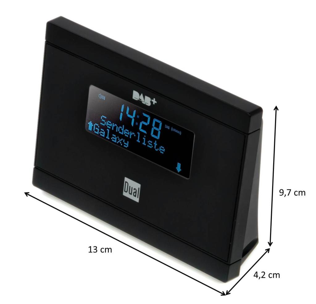 dual dab 2 a digital radio adapter mit fernbedienung lcd. Black Bedroom Furniture Sets. Home Design Ideas
