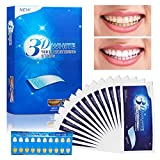 Blanchiment des Dents - Vegena 3D Teeth Whitening Strips, 14 Paires/28 Bandes   Gel...