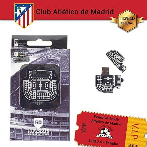 ATLETICO DE MADRID Estadio MEM-PDR-16-ATM97 - Memoria USB
