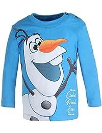 DISNEY Jungen Frozen Shirt, blau