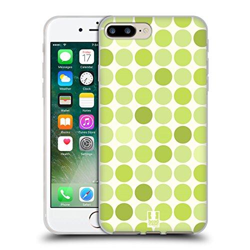 Head Case Designs Favoloso Sirene Affascinanti Cover Morbida In Gel Per Apple iPhone 7 Plus / 8 Plus Verde Tenero