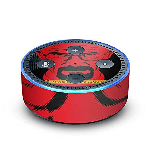 amazon Echo Dot 2.Generation Folie Skin Sticker aus Vinyl-Folie Walter White Breaking Bad Heisenberg