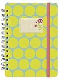 Moses 80591 Papier und Feder Notizbuch Summer Garden Tupfen